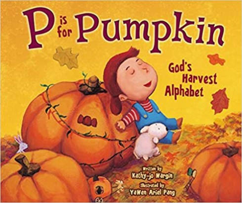 cover for P is for Pumpkin